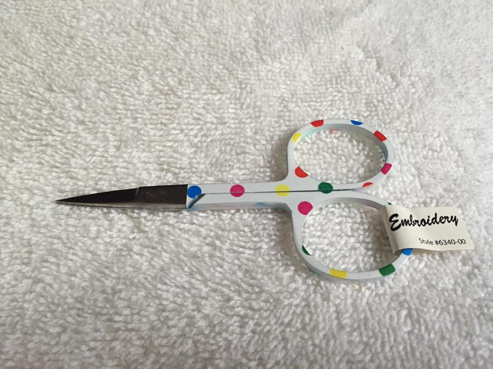 Embroidery Scissors - Polka Dots 1
