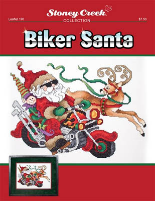 Biker Santa - Click Image to Close