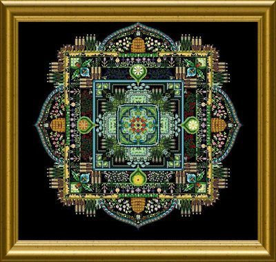 The Summer Garden Mandala