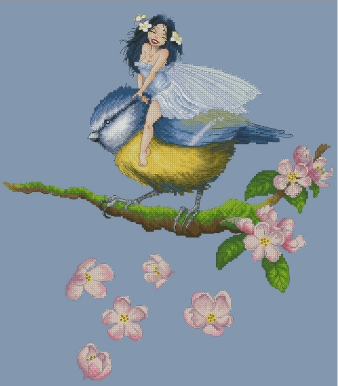 Chickadee Fairy