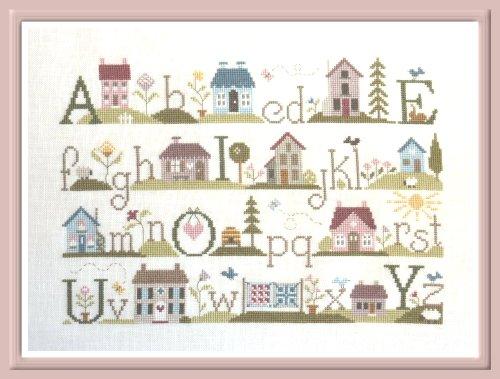 ABC des Maisons Cross Stitch Chart