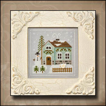 Frosty Forest 3-Snowman's Cottage