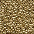 00557 Old Gold Glass Seed Beads