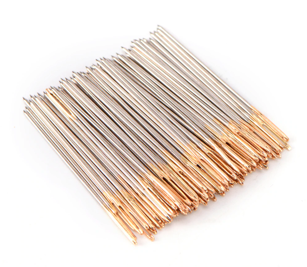 Gold Eye Needles Size 28
