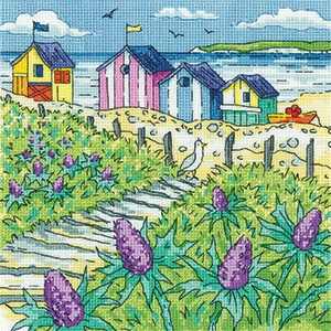 Sea Holly Shore - By The Sea - Karen Carter