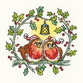 Christmas Robins - Birds of a Feather by Karen Carter