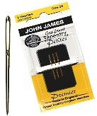 John James Gold Tapestry Petite Needles - Size 28