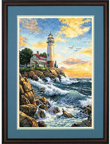Gold Collection Rocky Point Counted Cross Stitch Kit
