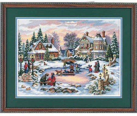 Gold Collection A Treasured Time Counted Cross Stitch Kit