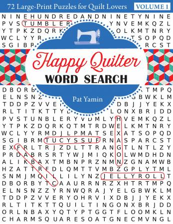 Happy Quilter Word Search - Softcover