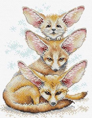 Fennec Fox Family