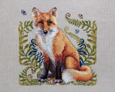 The Fox - A (Aida fabric)