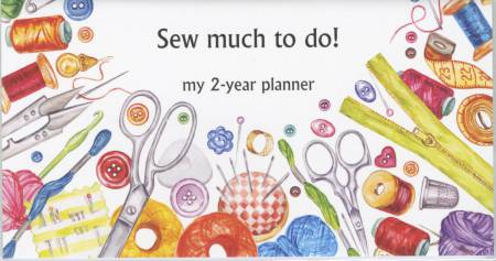 2 Year Pocket Planner Sew Much to Do