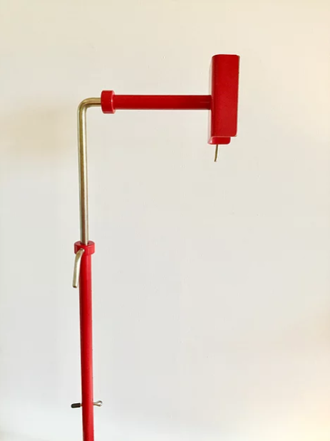 Complete Poppy-Red Color Workstand