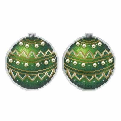 Emerald Ornament
