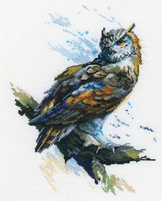 Owl Counted Cross Stitch Kit