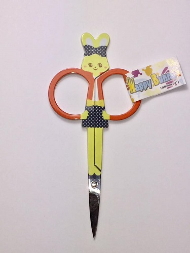 Embroidery Scissors - Red Bunny