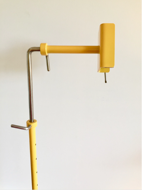Complete Saffron-Yellow Color Workstand