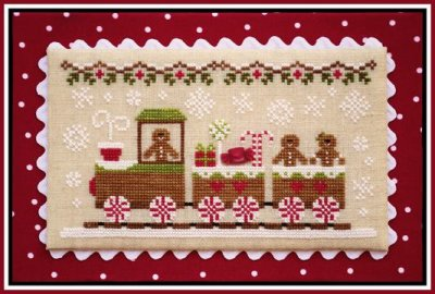 Gingerbread Village 1-Gingerbread Train