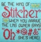 That Kind of Stitcher