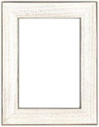 "Antique White Frame 7"" x 9"""