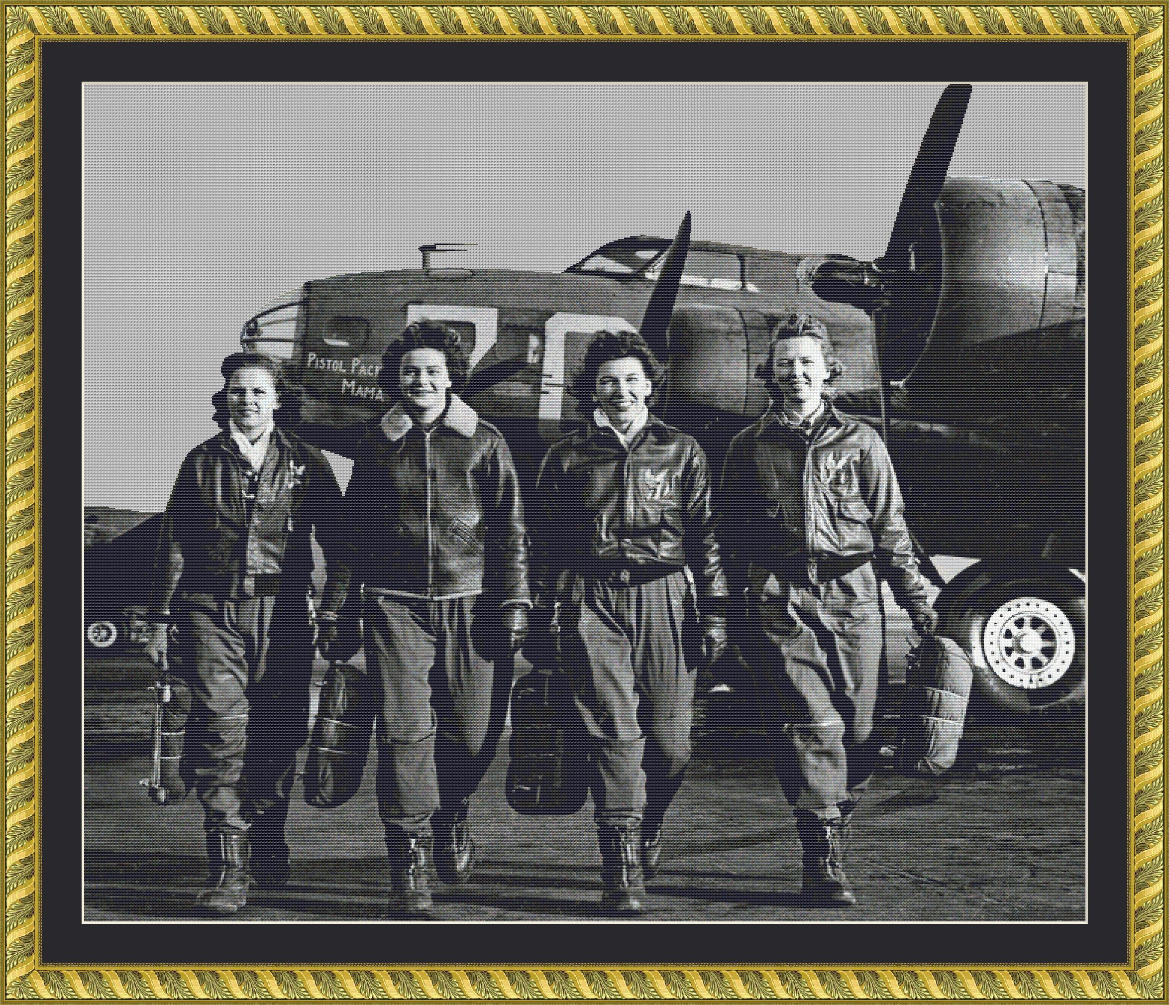 WW2 Women Airforce Service Pilots