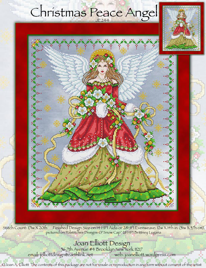 Christmas Peace Angel