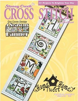 Stoney Creek Cross Stitch Collection - 2018 Spring