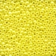 00128 Yellow Glass Seed Beads
