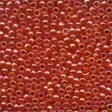 00165 Christmas Red Glass Seed Beads
