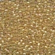 02019 Crystal Honey Glass Seed Beads