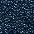 02021 Gunmetal Glass Seed Beads