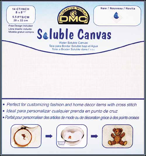 DMC Soluble Canvas