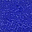 60020 Royal Blue Frosted Seed Beads