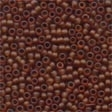 62023 Root Beer Frosted Seed Beads