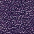62056 Boysenberry Frosted Seed Beads