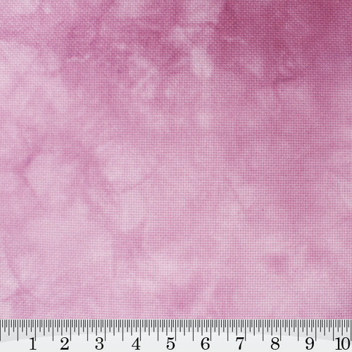 Cherry Blossom Hand Dyed Effect Cross Stitch Fabric