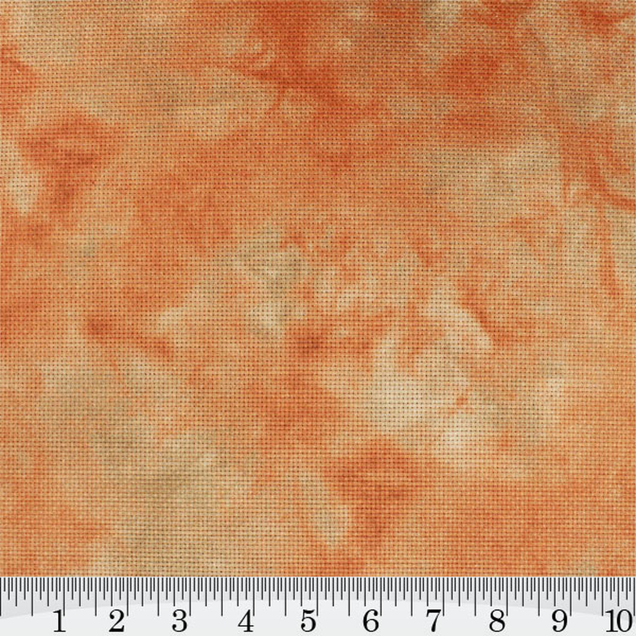 Ginger Snap Hand Dyed Effect Cross Stitch Fabric