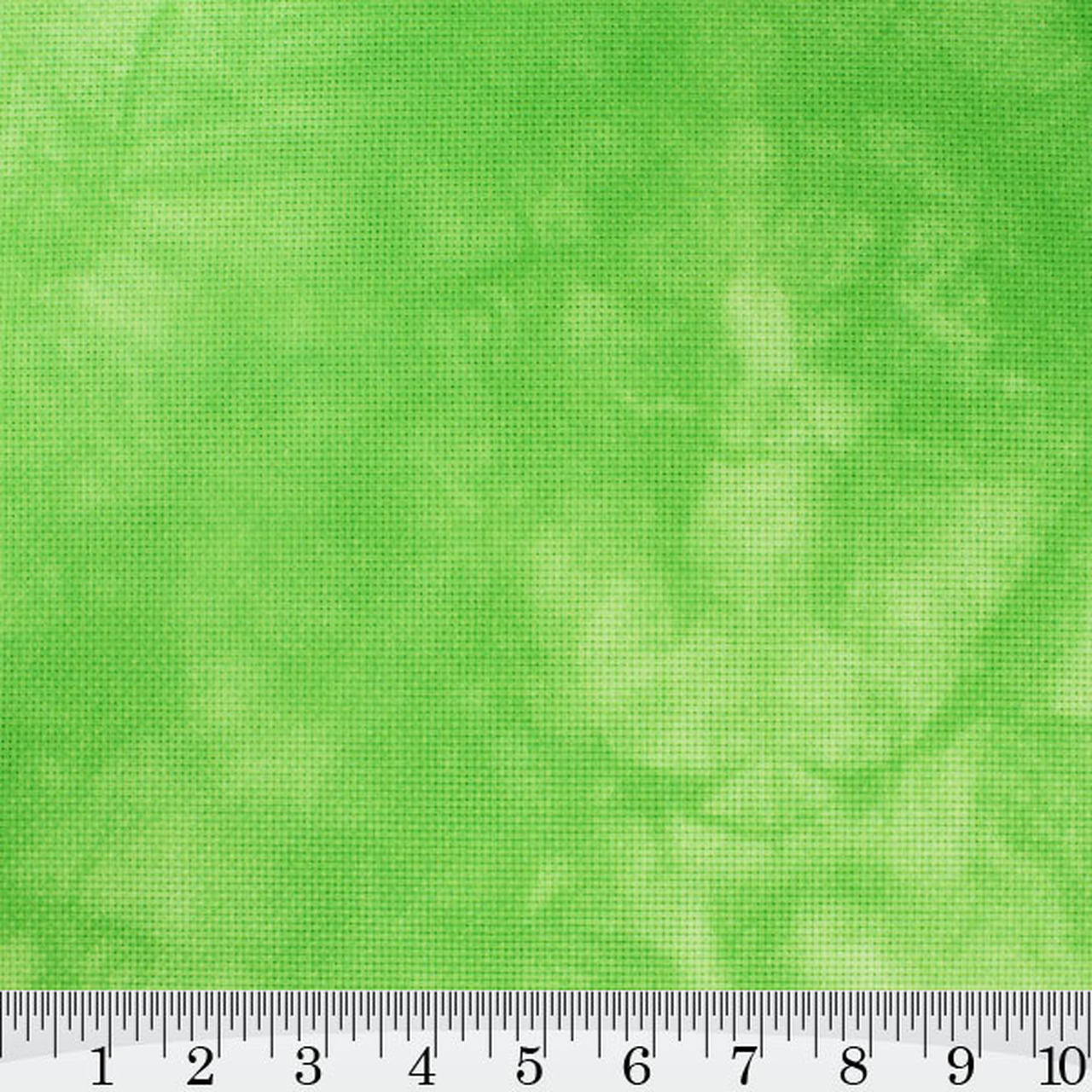 Granny Smith Hand Dyed Effect Cross Stitch Fabric
