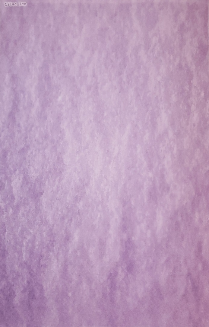 Lilac Ice Patterned Cross Stitch Fabric