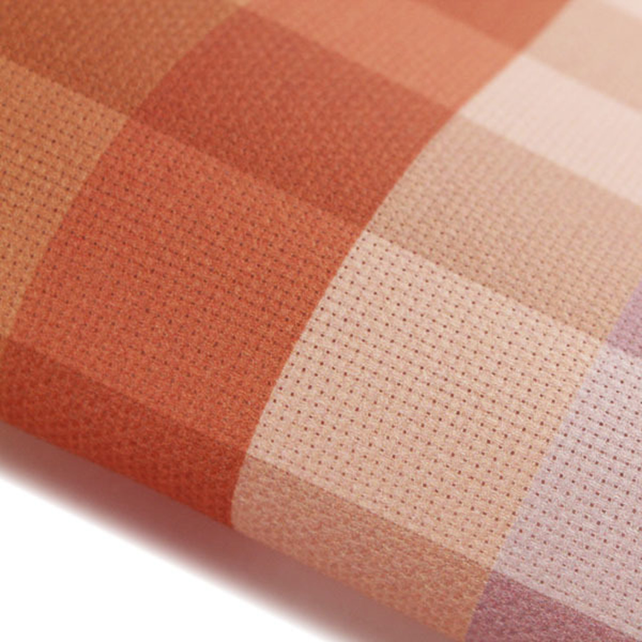 Madras Patterned Cross Stitch Fabric