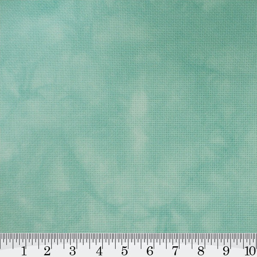 Pale Misty Blue Hand Dyed Effect Cross Stitch Fabric