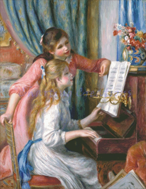 Girls At The Piano Kit