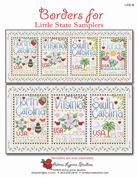 Borders for Little State Samplers