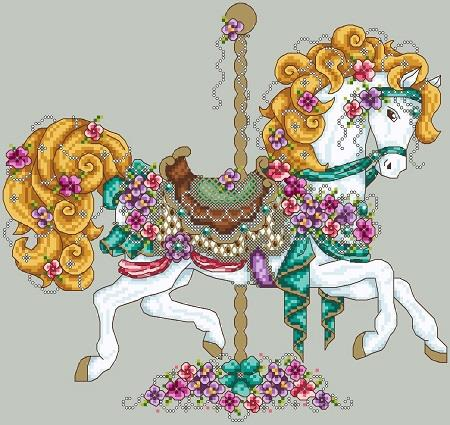 Carousel Horse - Click Image to Close