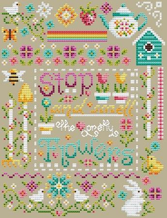 Pretty Flowers Sampler