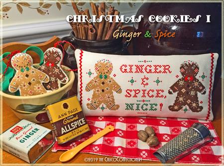 Christmas Cookies I - Ginger & Spice