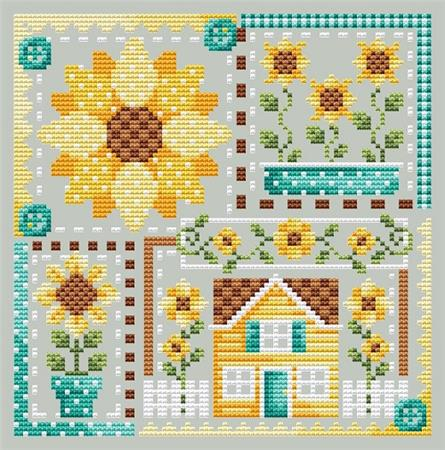 Sunflower Patchwork
