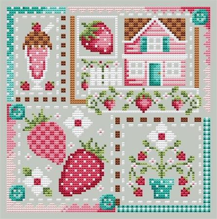 Strawberry Patchwork