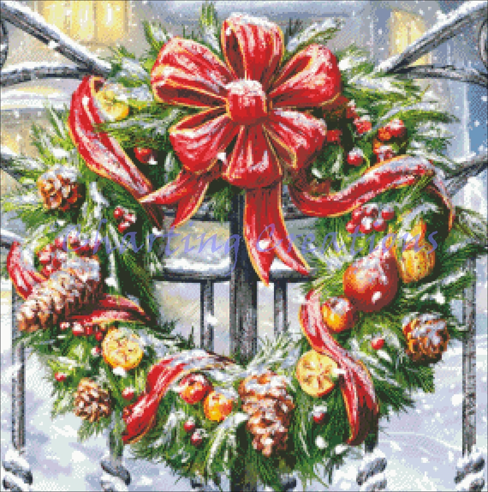 Snippet Wreath Welcome